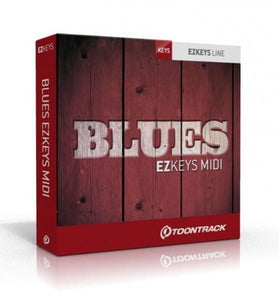 EZ KEYS BLUES MIDI PACK