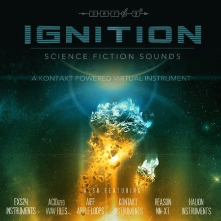 IGINITION - SCIENCE FICTION SOUNDS