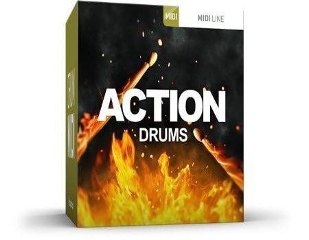 ACTION DRUMS MIDI PACK