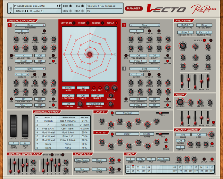 VECTO VIRTUAL SYNTH