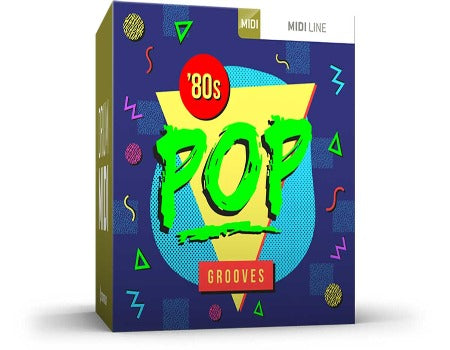 EIGHTIES POP GROOVES DRUM MIDI