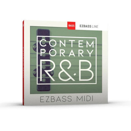 EZ BASS CONTEMPORARY R & B MIDI