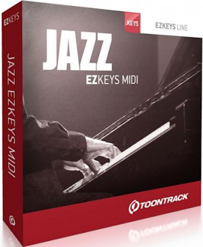 EZ KEYS JAZZ MIDI PACK