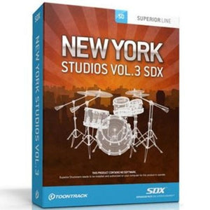 SDX NEW YORK STUDIOS VOL 3