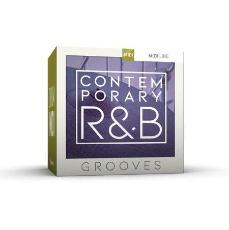 CONTEMPORARY R&B GROOVES DRUM MIDI PACK