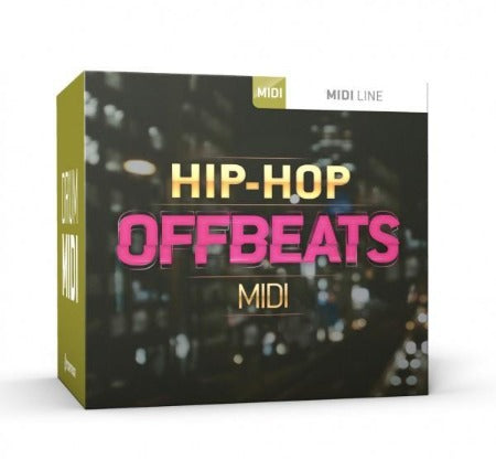 HIP HOP OFFBEATS DRUM MIDI