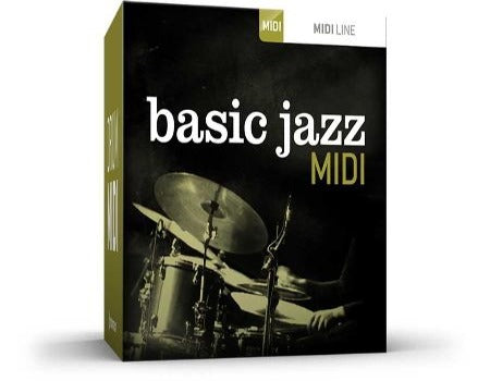 BASIC JAZZ DRUM MIDI