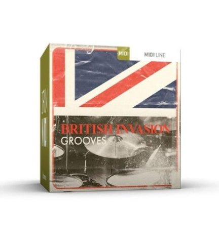 BRITISH INVASION GROOVES DRUM MIDI PACK
