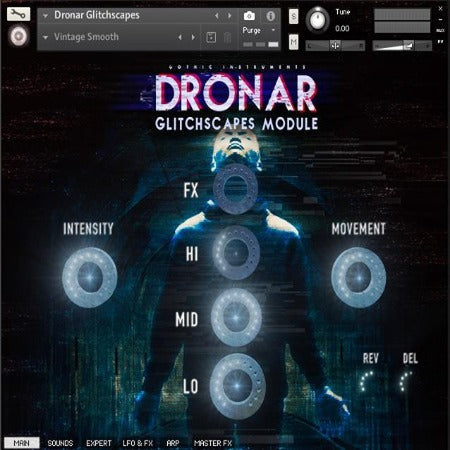 DRONAR GLITCHSCAPES