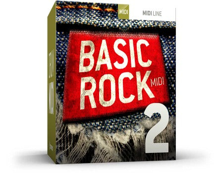 BASIC ROCK DRUM MIDI 2