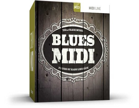 BLUES DRUM MIDI