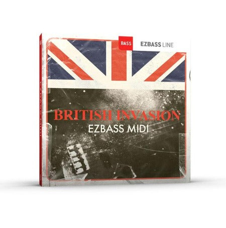 BRITISH INVASION EZ BASS MIDI PACK