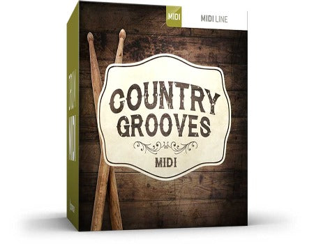 COUNTRY GROOVES DRUM MIDI
