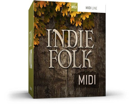 INDIE FOLK DRUM MIDI