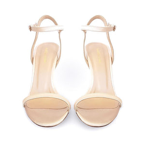 IOLE nude satin - Βenissimo - Martello Oro - {{ Cyprus_shoes }} - {{ Cyprus_bags }}