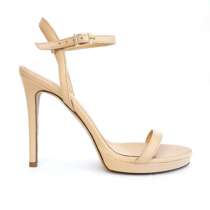 MELISSA nude leather - Βenissimo - Martello Oro - {{ Cyprus_shoes }} - {{ Cyprus_bags }}