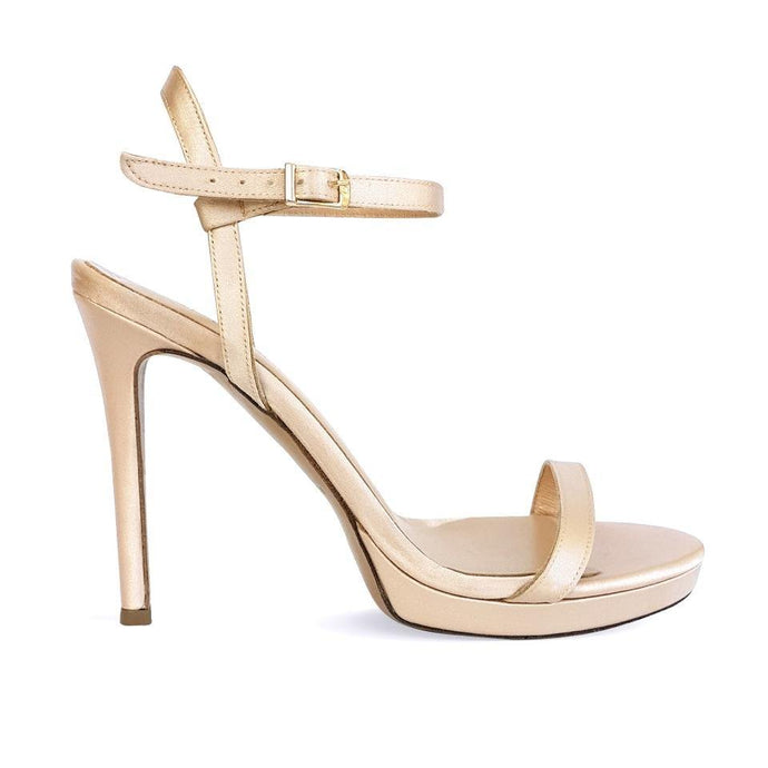 MELISSA nude satin - Βenissimo - Martello Oro - {{ Cyprus_shoes }} - {{ Cyprus_bags }}