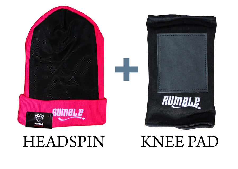 Pack bonnet headspin + protection genou