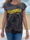 Tee Shirt femme camouflage