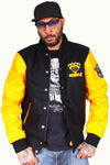 Veste teddy Rumble Noir / Jaune