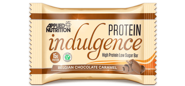 Applied Nutrition Belgian Chocolate Caramel Protein Indulgence Bar - Protein Parcel