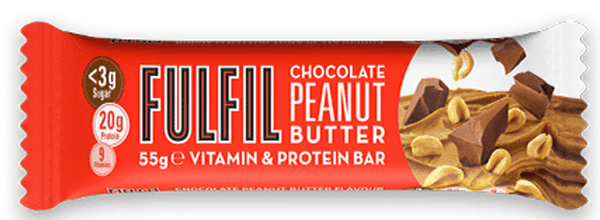 Fulfil Chocolate Peanut Butter Protein Bar - Protein Parcel