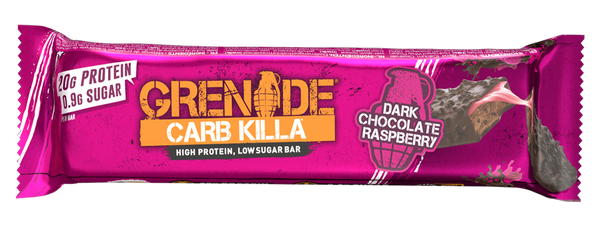 Grenade Carb Killa Dark Chocolate Raspberry Protein Bar - Protein Parcel