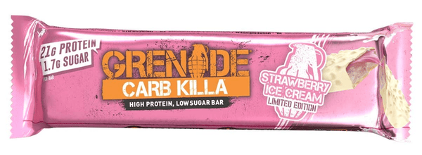 Grenade Carb Killa Strawberry Ice Cream Protein Bar - Protein Parcel