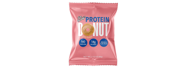 Jim Buddy Cake Batter Protein Donut - Protein Parcel