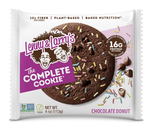 Lenny & Larry's Chocolate Donut Complete Cookie - Protein Parcel