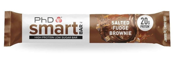 PhD Smart Bar Salted Fudge Brownie Protein Bar - Protein Parcel