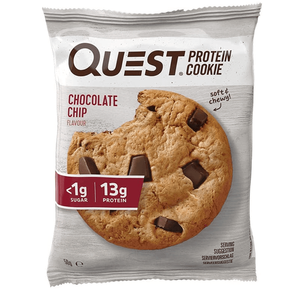 Quest Chocolate Chip Protein Cookie - Protein Parcel