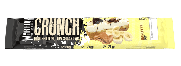 Warrior Crunch Banoffee Pie Protein Bar - Protein Parcel