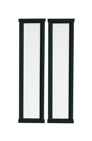 "X-tension 10"" - Fusion Gates Satin Nickel Extension Kit"
