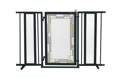 "52"" - 60"" DIY Fusion Gate, Satin Nickel Finish"