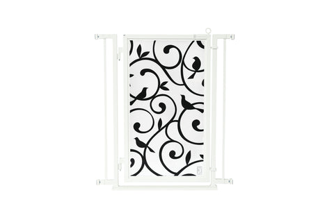 "32"" - 34"" Songbirds Fusion Gate, White Pearl Finish"