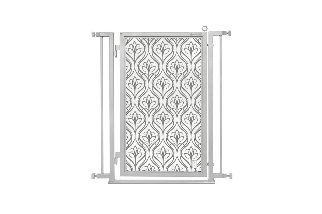"32"" - 34"" Satin Harvest Fusion Gate, Satin Nickel Finish"