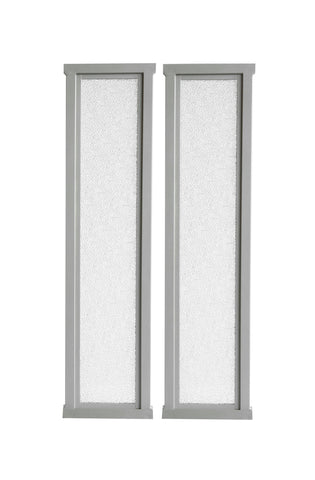 "X-tension 4.5"" - Fusion Gates Satin Nickel Extension Kit"