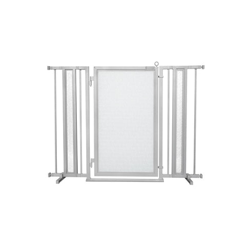 "36"" - 52"" DIY Fusion Gate, Satin Nickel Finish"