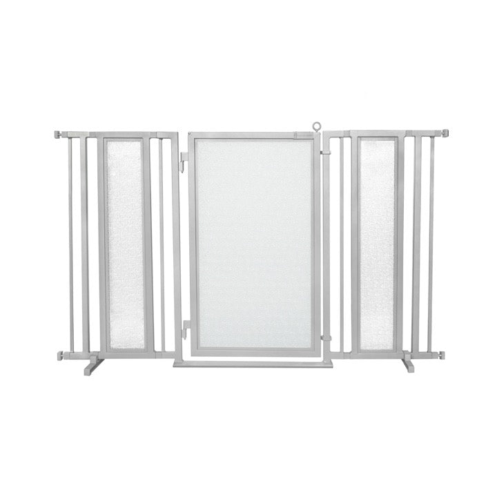 "60"" - 65"" DIY Fusion Gate, Satin Nickel Finish"