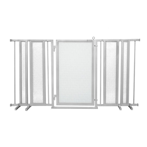 "65"" - 71.5"" DIY Fusion Gate, Satin Nickel Finish"