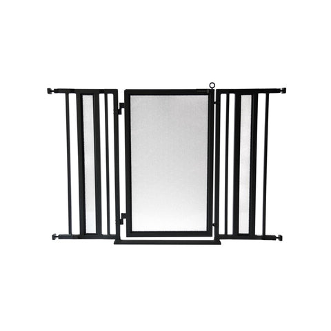 "36"" - 52"" DIY Fusion Gate, White Pearl Finish"