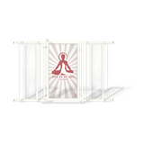 Fusion Gates Designer Baby Gates for Dogs & Baby, Dog Is My Zen