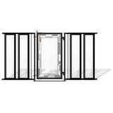 Fusion Gates Metal Pet & Baby Gate, Bauhaus Border