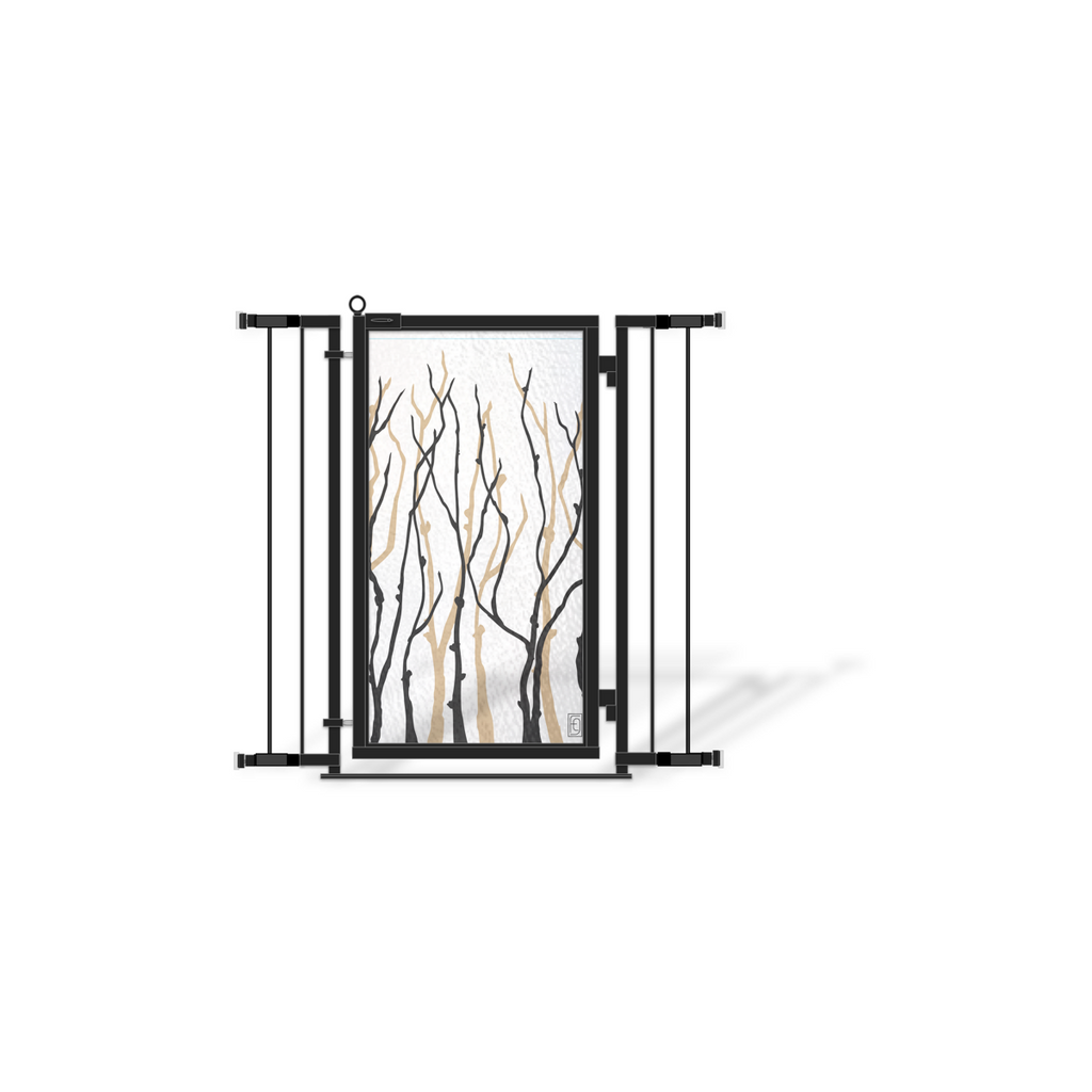 Fusion Gates Expandable Baby & Dog Gates for Indoor Use