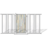 Fusion Gates Modern Dog & Baby Gate for Top of Stairs