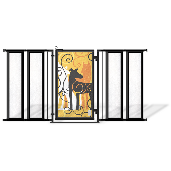 Walk Through Safety Gate For Babies Pets Fusion Gates