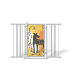 Fusion Gates Walk Through Safety Gate for Babies & Pets