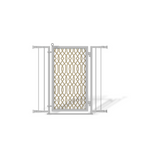 Fusion Gates Pet & Baby Gate, Gold Lattice