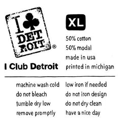 I Club Detroit Label Design